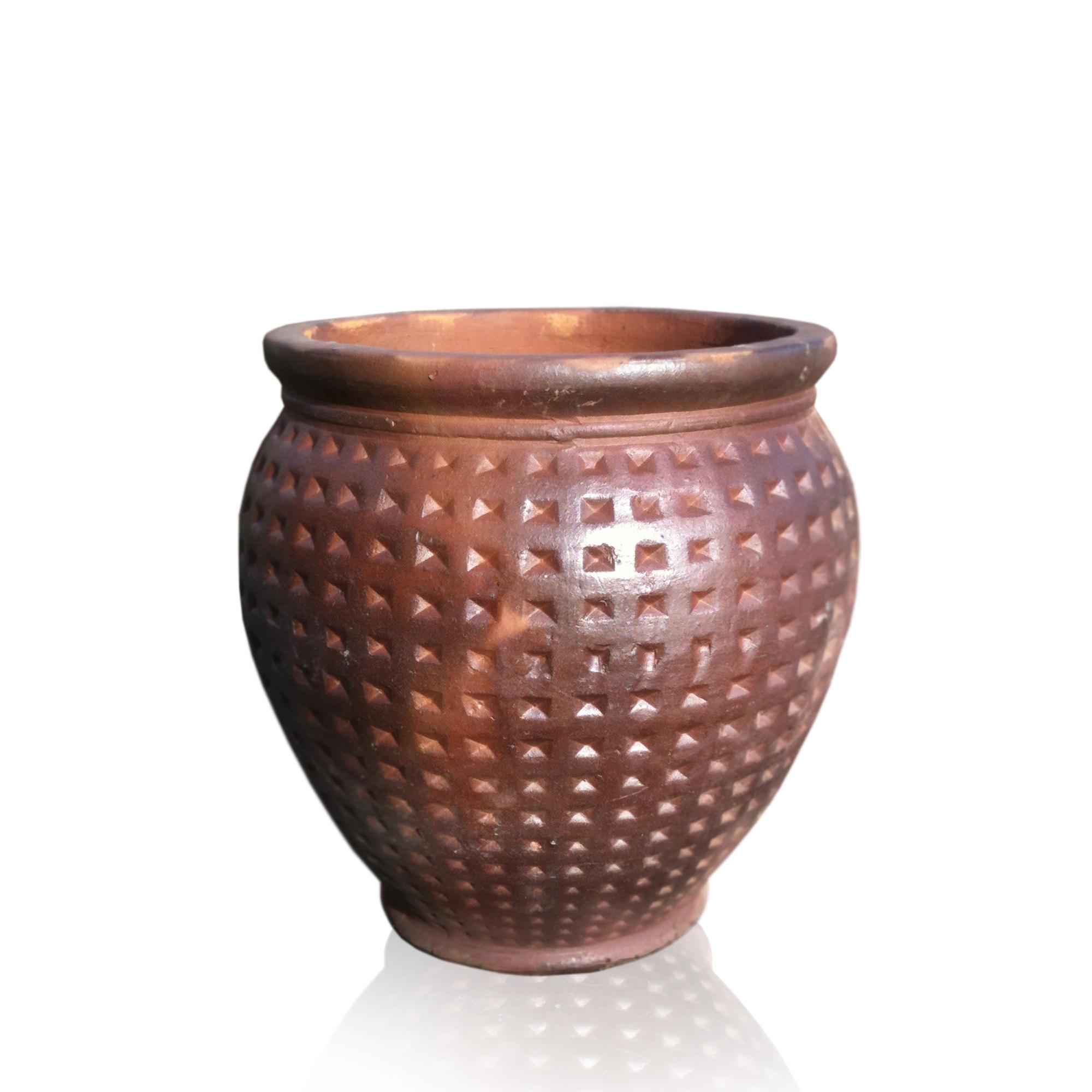 Dimpled Vase
