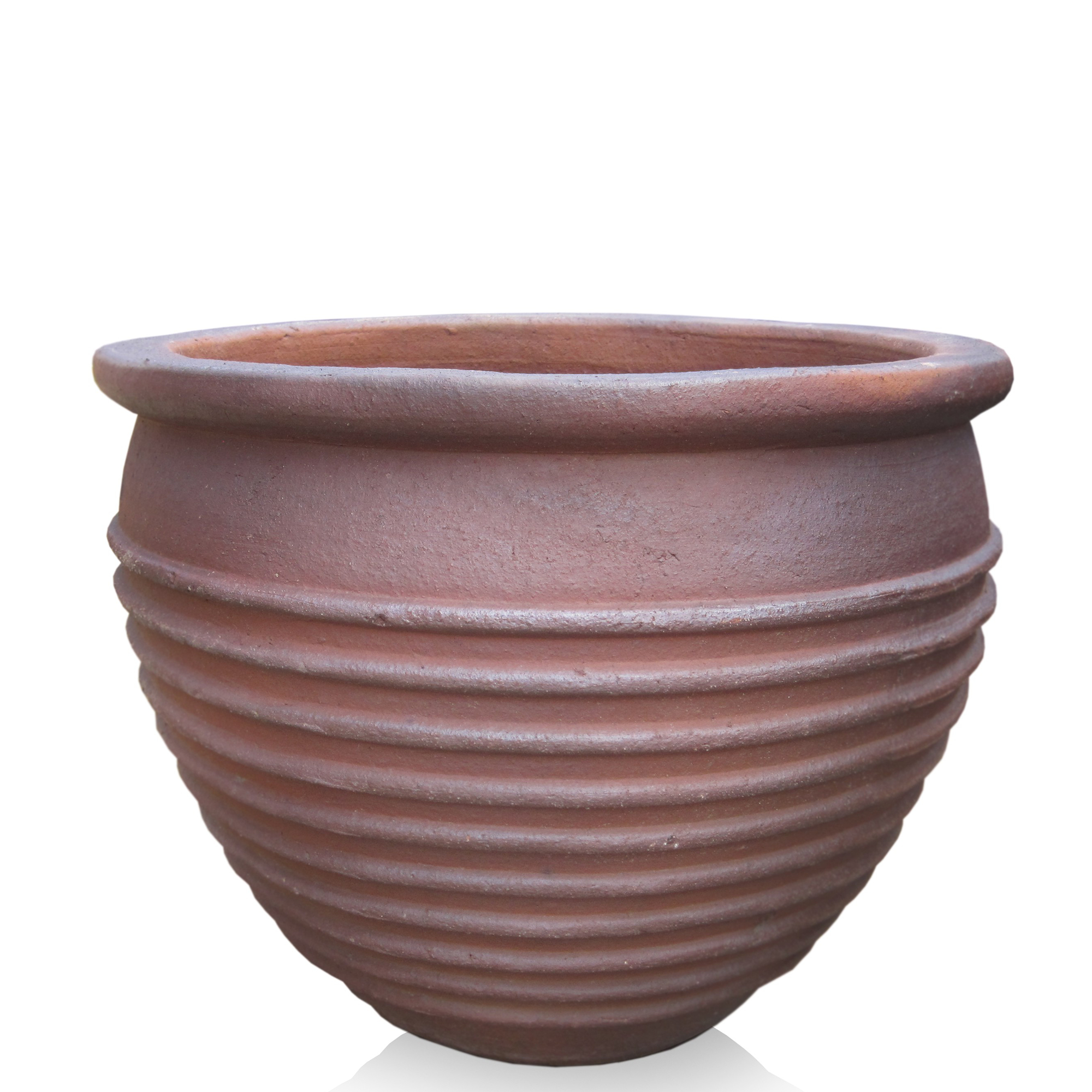 Ribbed Pot